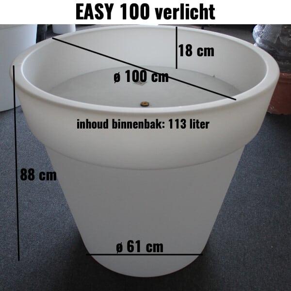 easy 100 verlicht