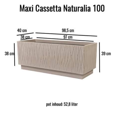 Maxi Cassetta Naturalia
